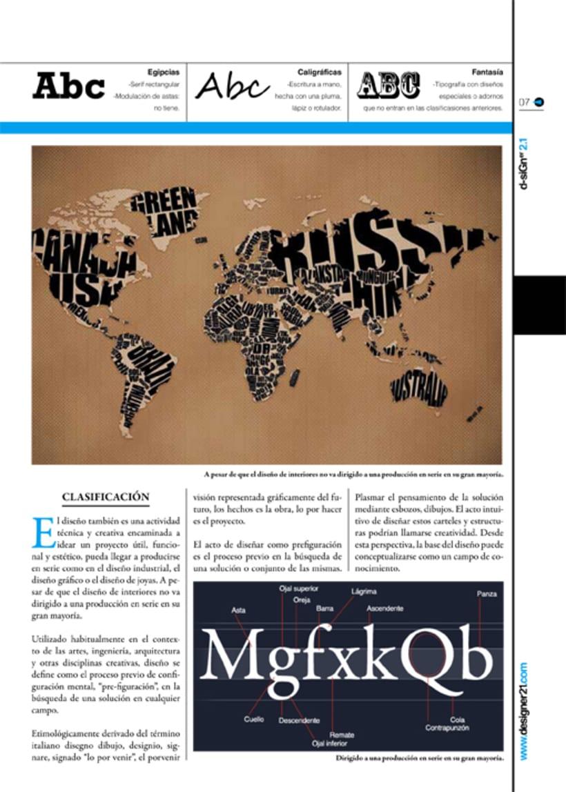 Maquetación y diseño revista 5
