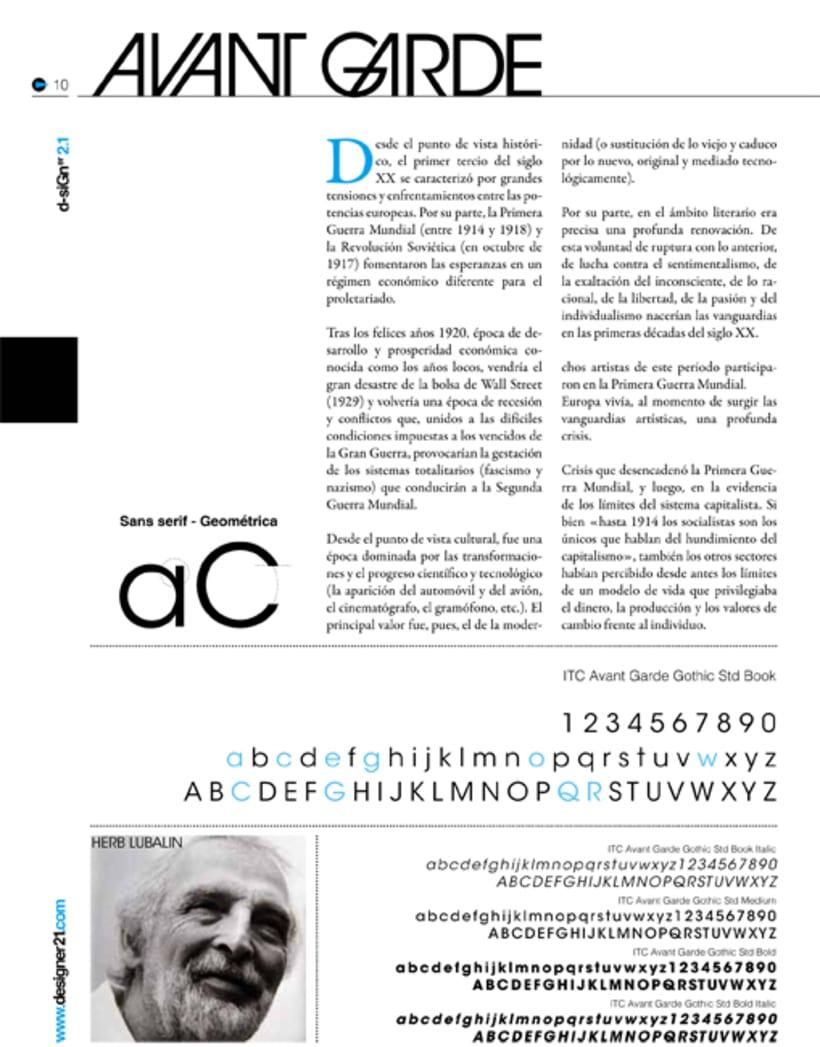 Maquetación y diseño revista 6