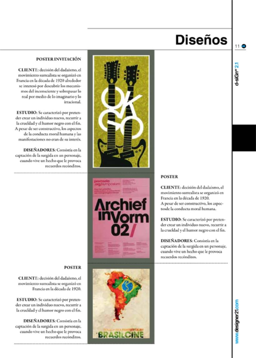 Maquetación y diseño revista 7