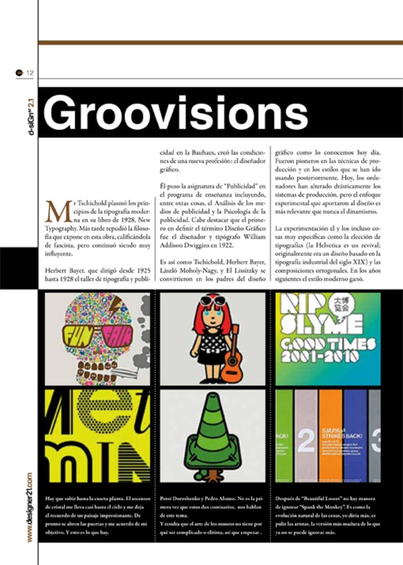 Maquetación y diseño revista 8