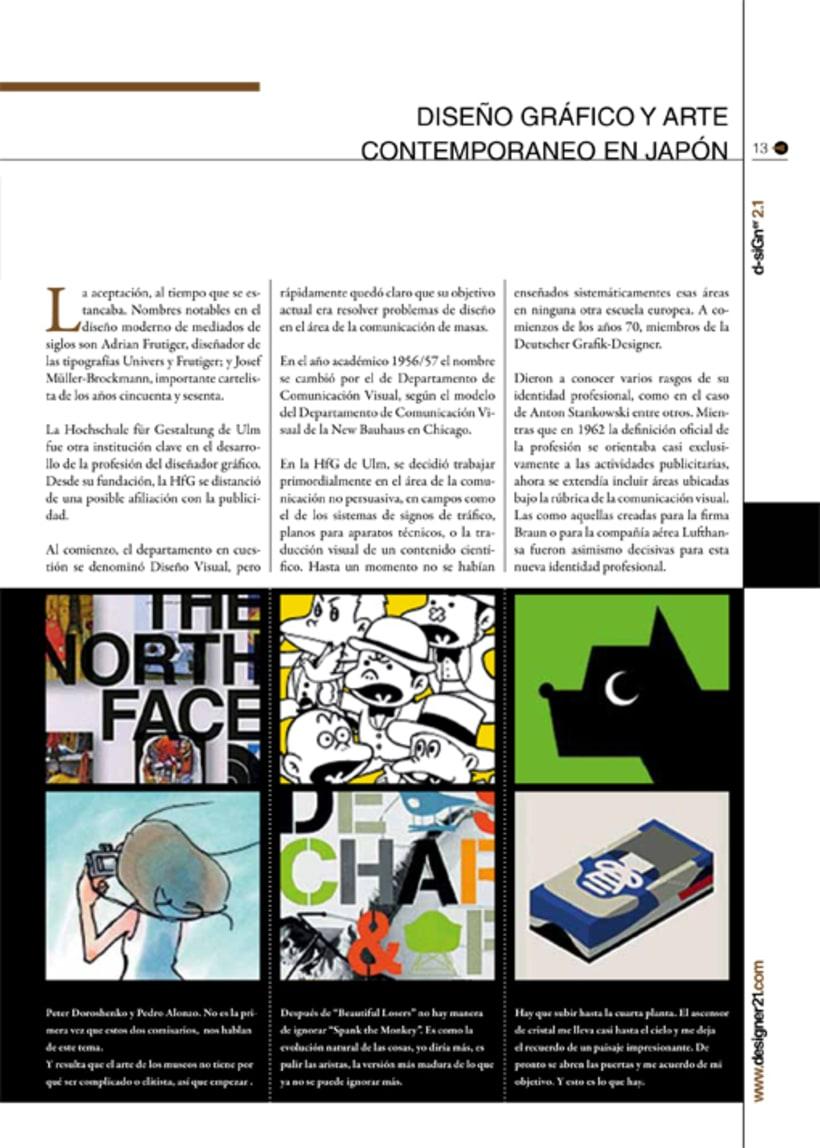 Maquetación y diseño revista 9