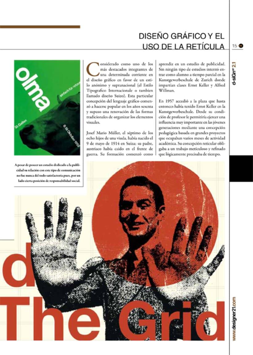 Maquetación y diseño revista 11