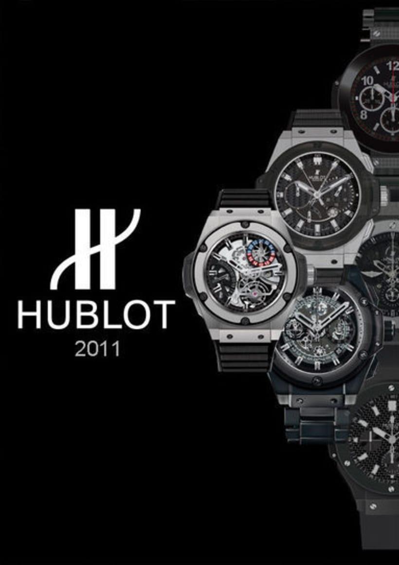 Diseño publicitario-Relojes Hublot 2