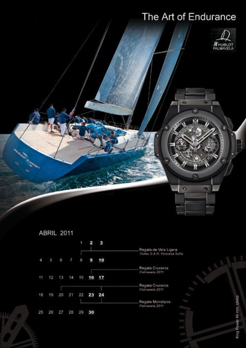 Diseño publicitario-Relojes Hublot 3