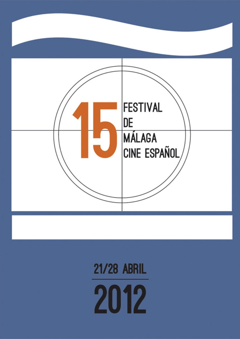 Cartel Festival de Cine de Málaga 2012 2
