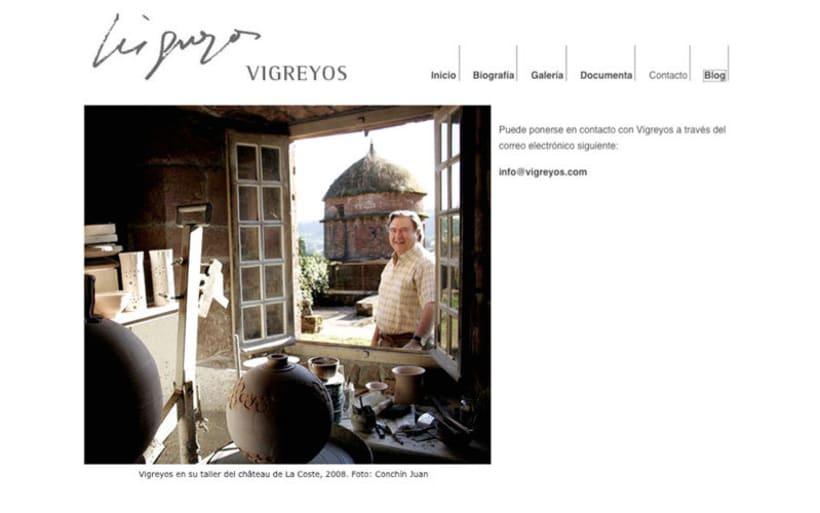 Web escultor Vicente Vigreyos 3