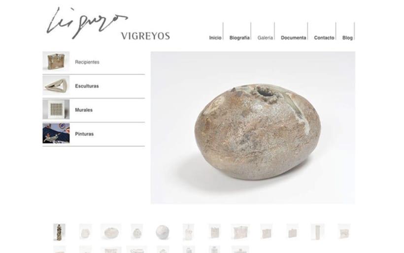 Web escultor Vicente Vigreyos 2