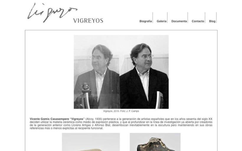 Web escultor Vicente Vigreyos 1