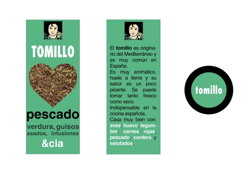 Diseño de packaging Carmencita Especias 5