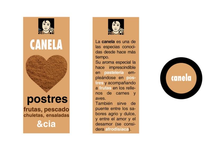 Diseño de packaging Carmencita Especias 8