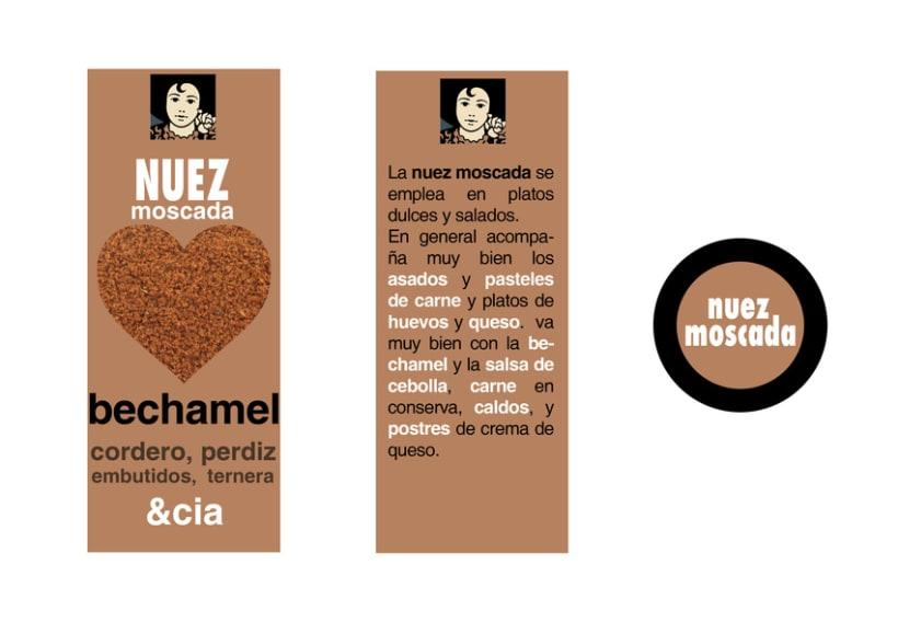 Diseño de packaging Carmencita Especias 4
