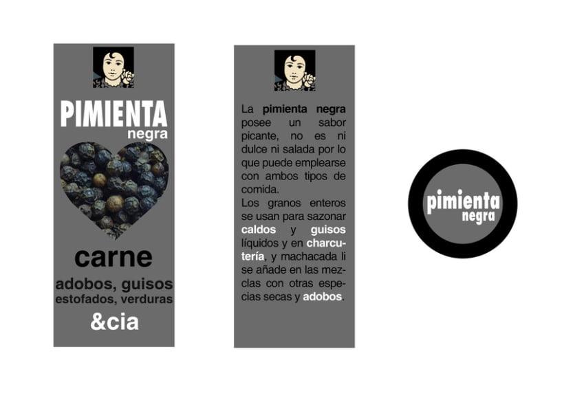 Diseño de packaging Carmencita Especias 6