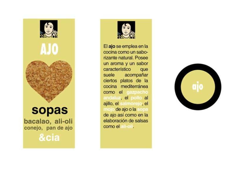 Diseño de packaging Carmencita Especias 7