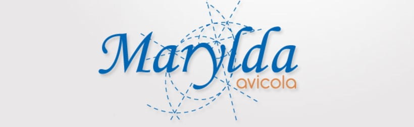 Diseño del logo Marylda 1