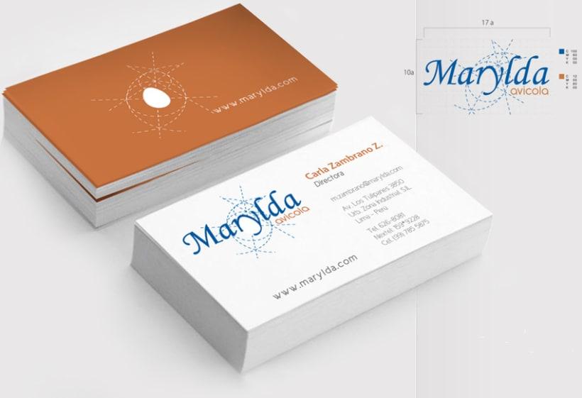Diseño del logo Marylda 5