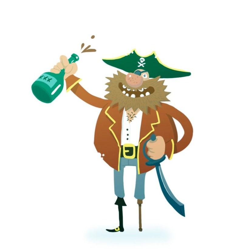 El Pirata Garrapata 1