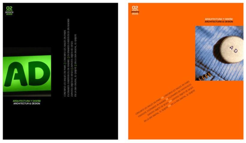 Proyecto de revista y web ad domestika - Paginas de arquitectura y diseno ...