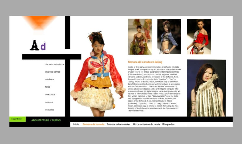 Proyecto de revista y web AD 8