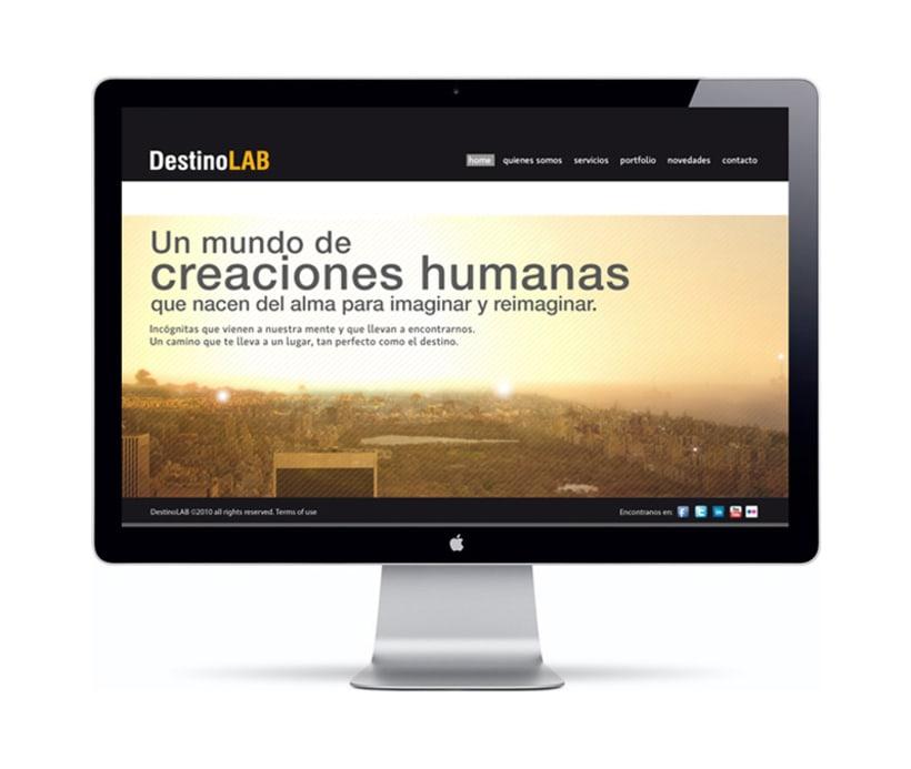 Web DestinoLAB 1