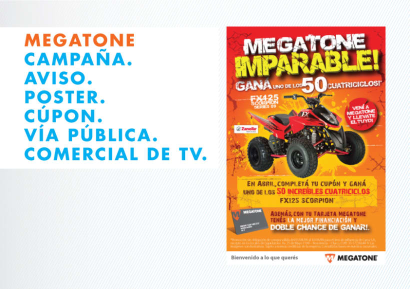 Campaña Megatone Imparable 1