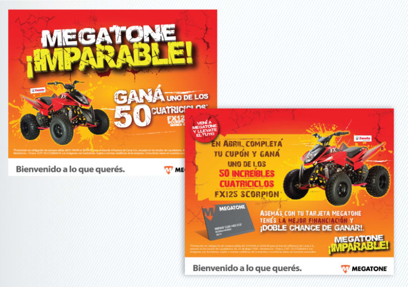 Campaña Megatone Imparable 3