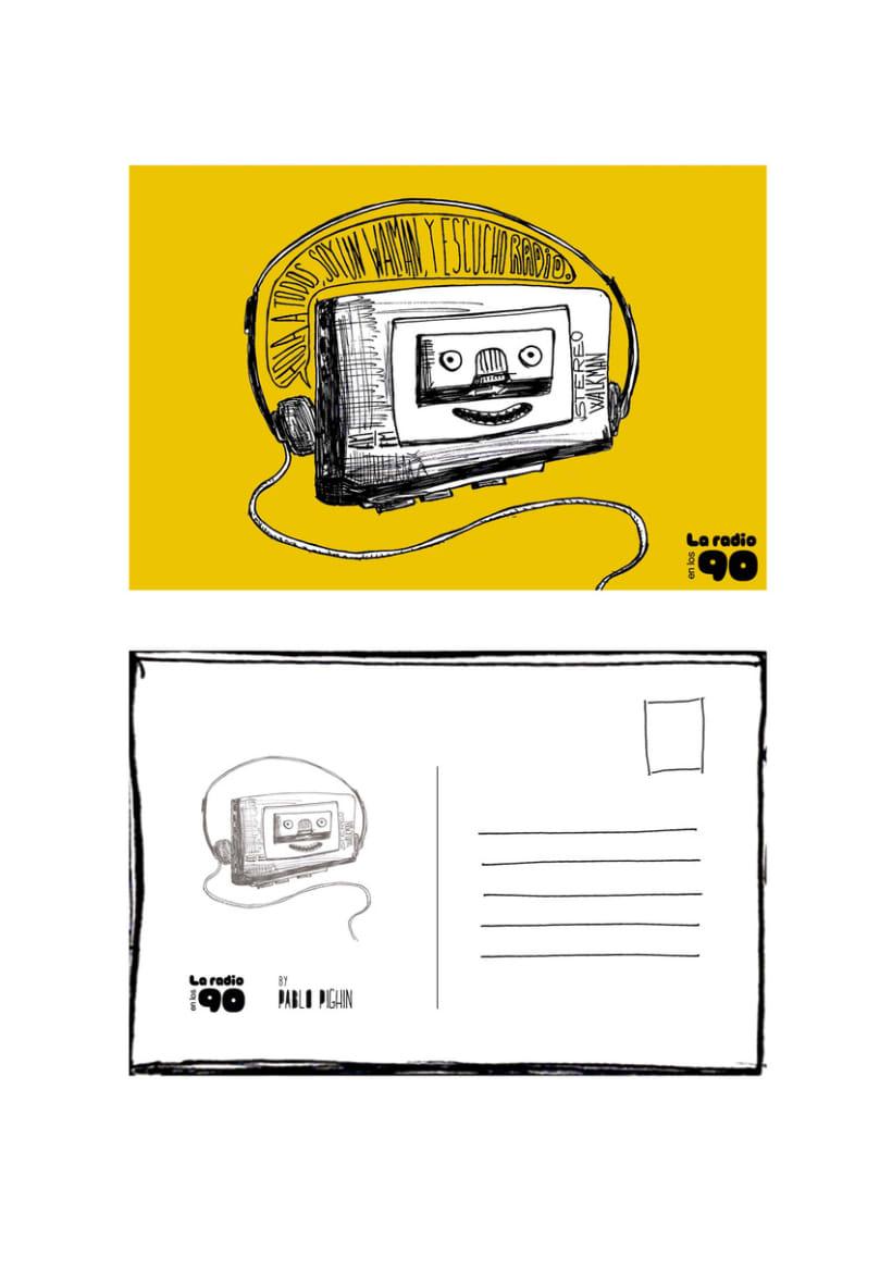 La radio en los 90 3