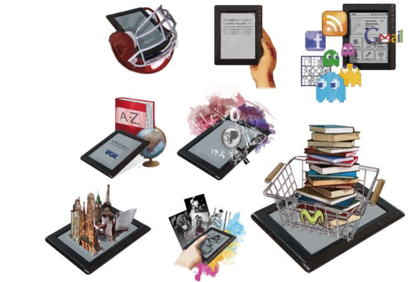 Ilsutraciones para e-book 6