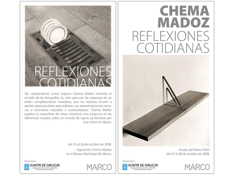 Flyer _ Chema madoz 1