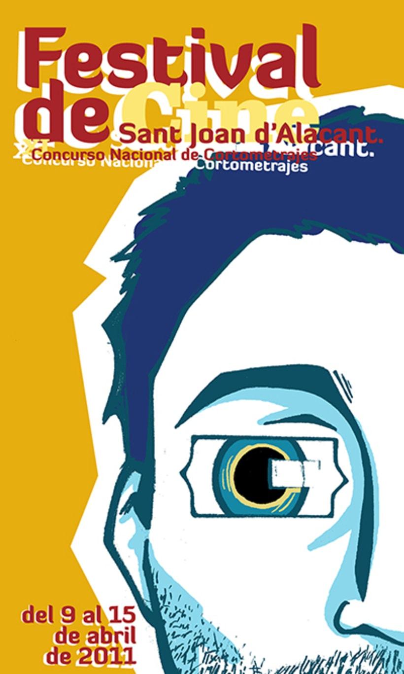 Cartel para festival de cine 1