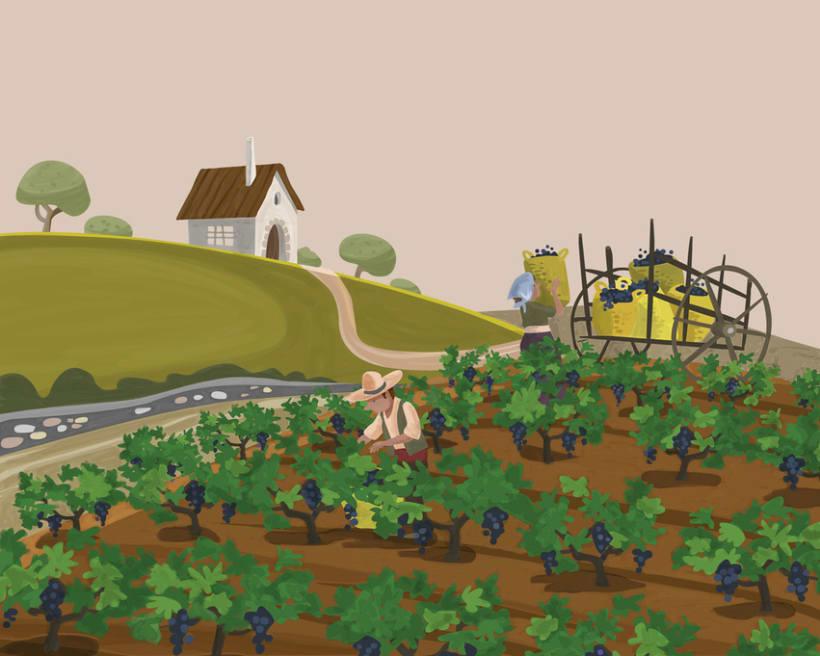 Ilustracion productos ecologicos 2