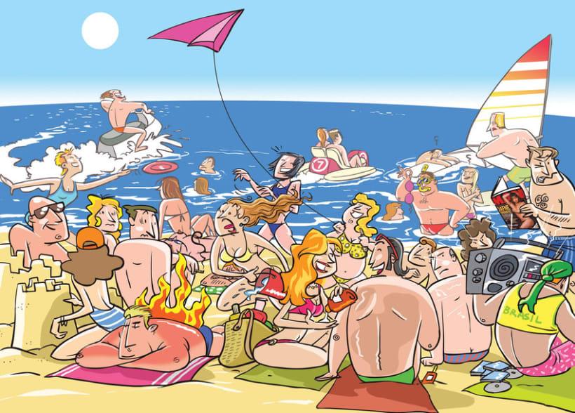 Reportaje - 30 actividades para disfrutar del mar (4 dobles paginas) 2