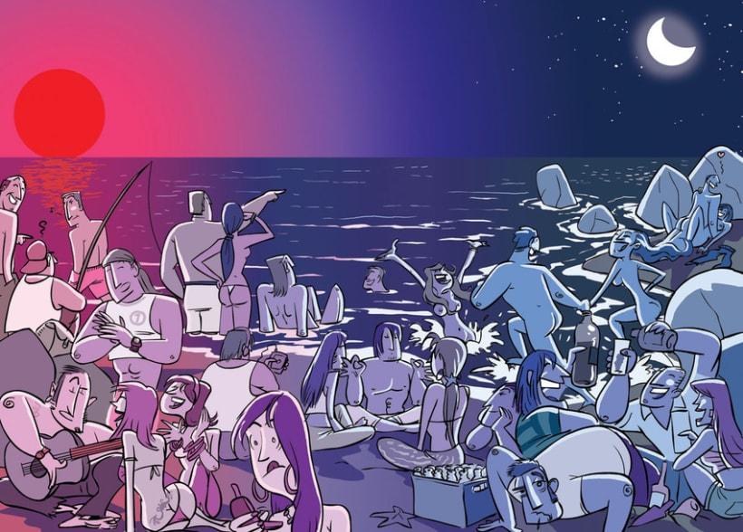 Reportaje - 30 actividades para disfrutar del mar (4 dobles paginas) 1