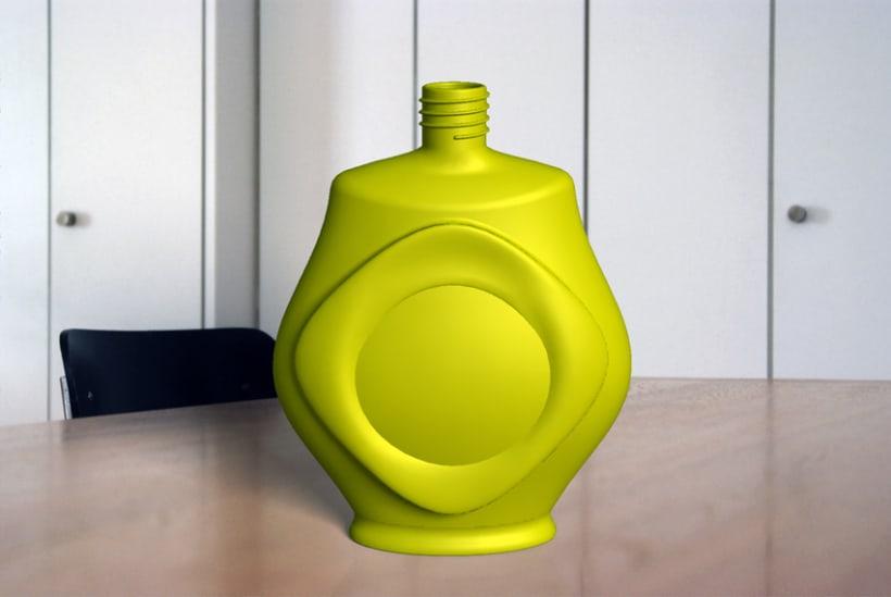 Modelado de recipiente para perfume 2