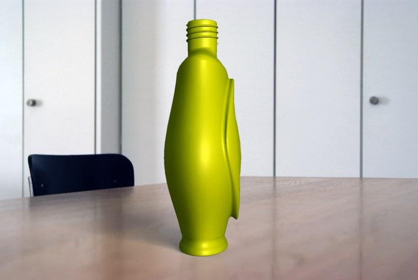 Modelado de recipiente para perfume 3