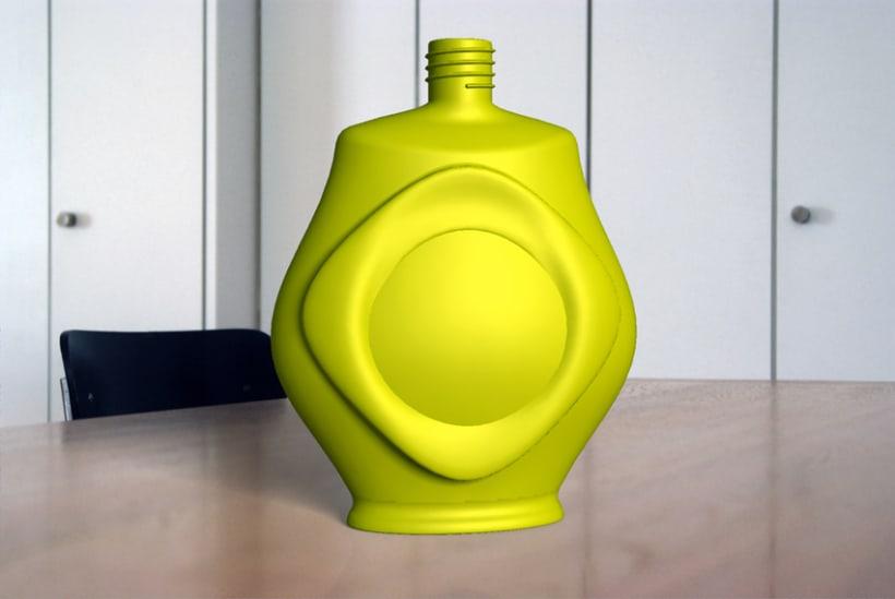 Modelado de recipiente para perfume 4