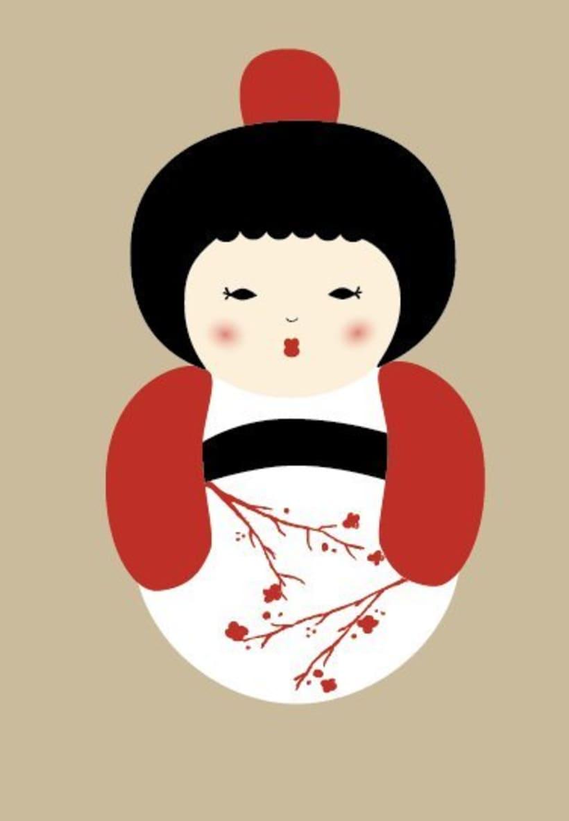 Ilustración: Japonesa 1