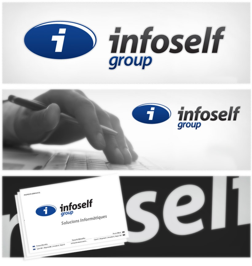 Imagen corporativa de Infoself group 1