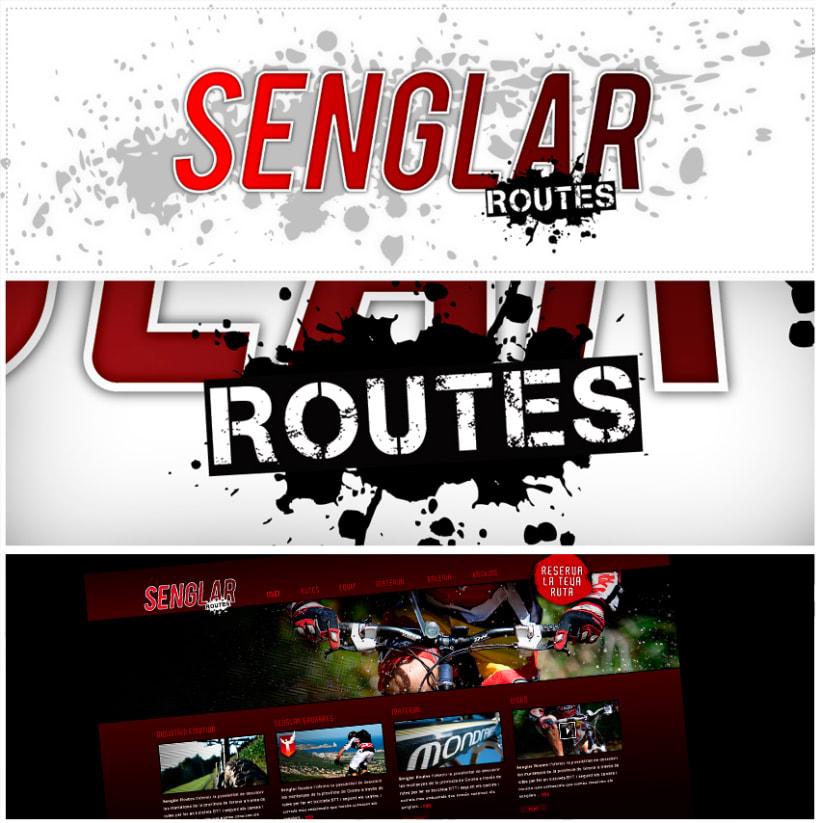 Imagen Corporativa de Senglar Routes 1