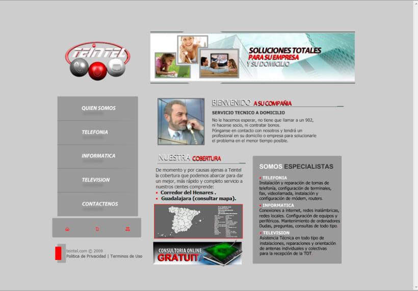 Diseño de imagen corporativa  y website 4