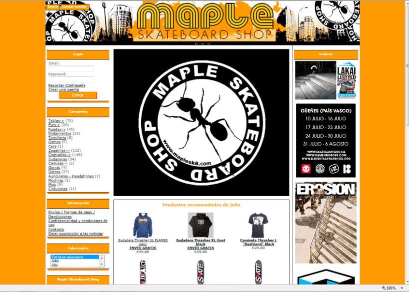 Tienda Online Maple Skateboard 4