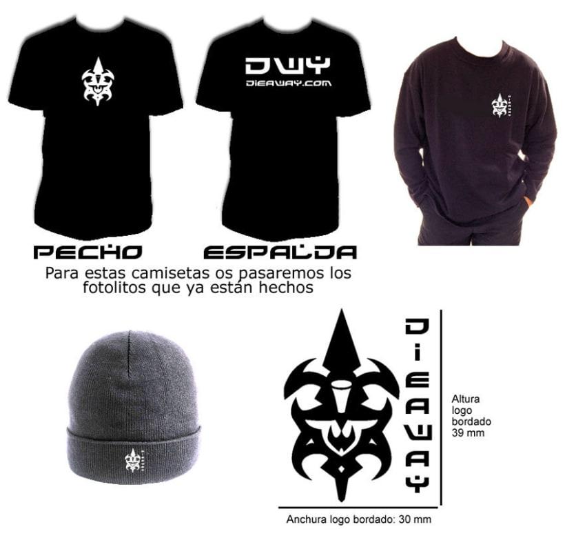 Diseño logo, Web y merchandising 10