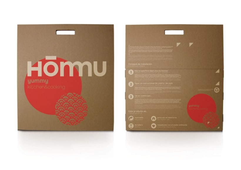 Packaging Hommu 4