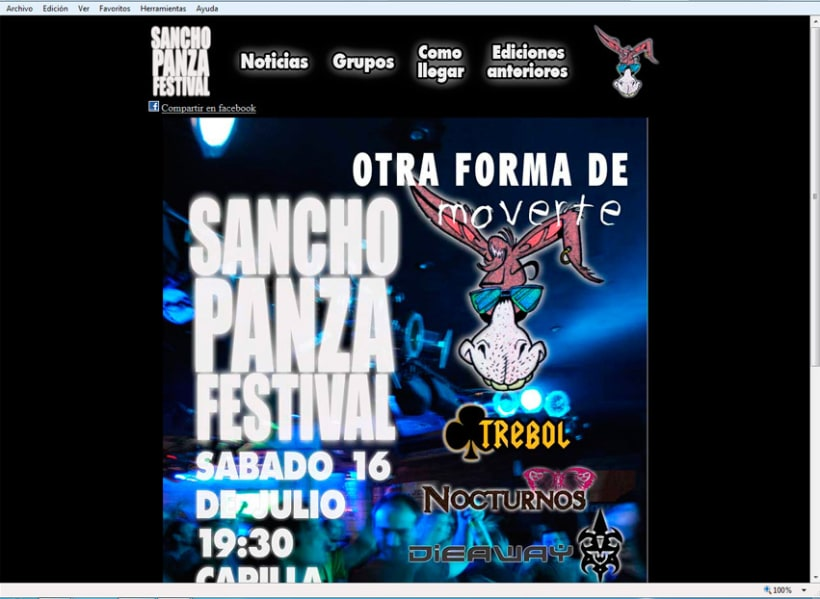 Sancho Panza Festival 1