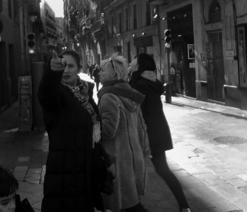 Barcelona    Blanco y Negro 4