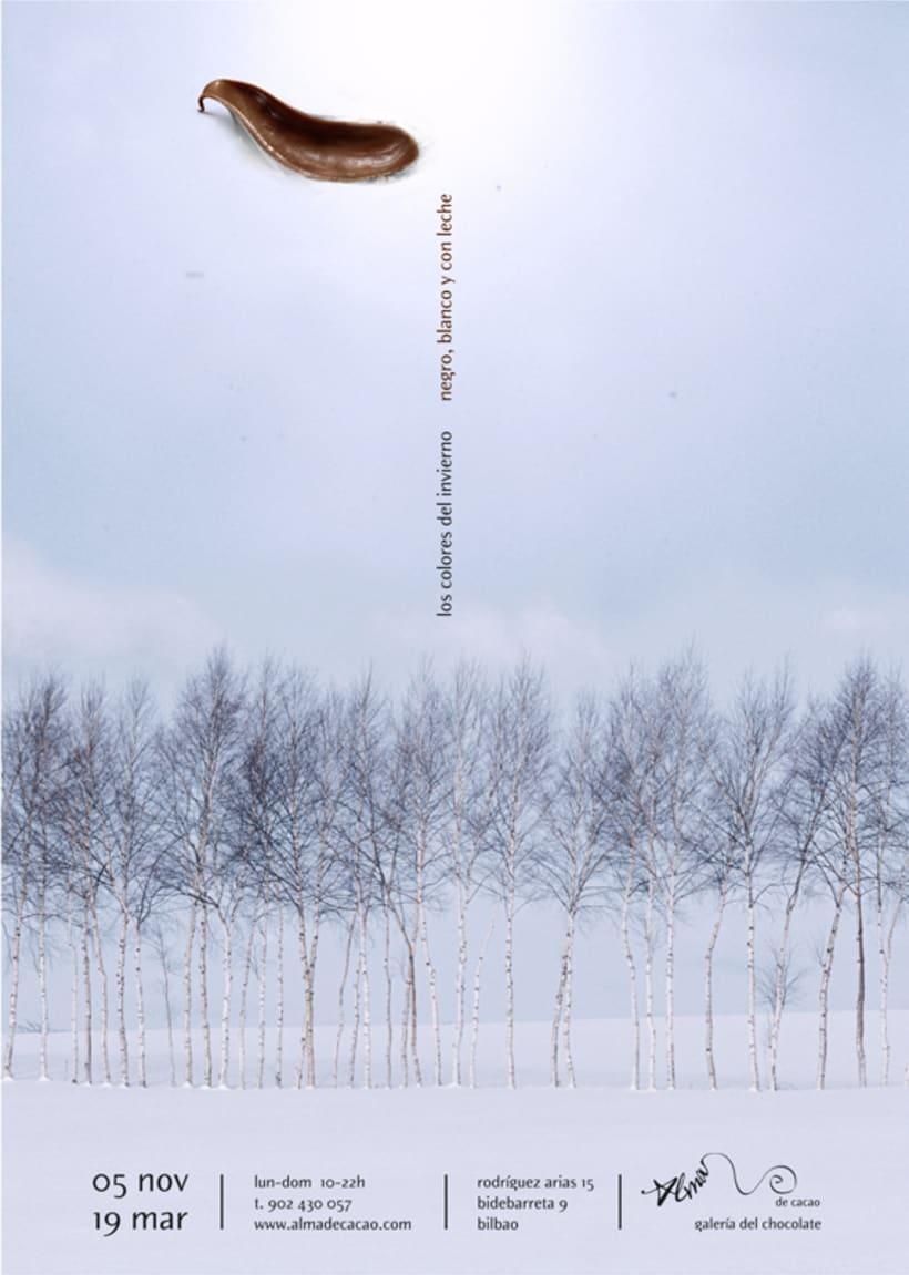 Los colores del invierno: negro, blanco y con leche 2