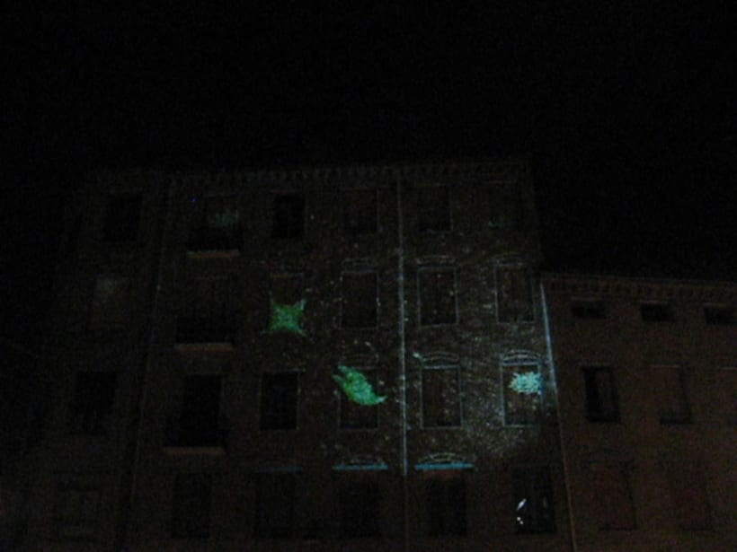 Monumental Mapping Projection @ 5º Asalto 9