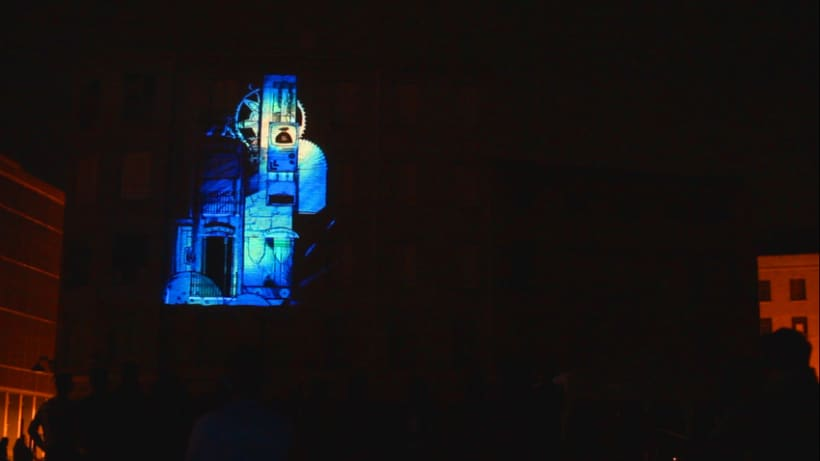 Monumental Mapping Projection @ 5º Asalto 5