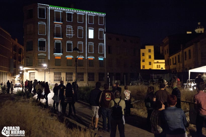 Monumental Mapping Projection @ 5º Asalto 3