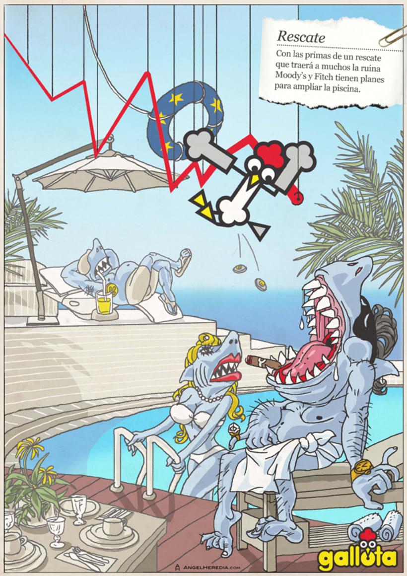 GALLOTA. Humor gráfico y rimas de arte menor. 10