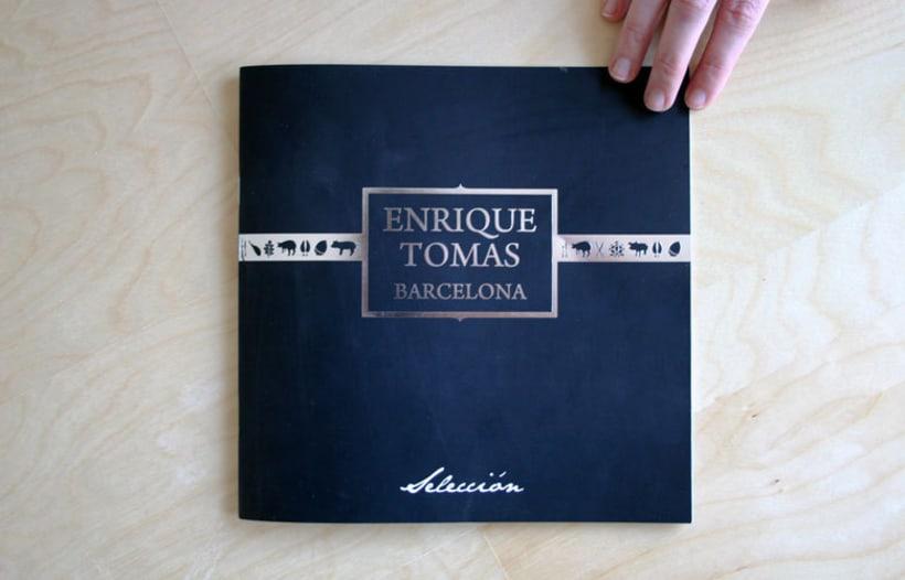 Catalogo Selección Jamones Enrique Tomás 1